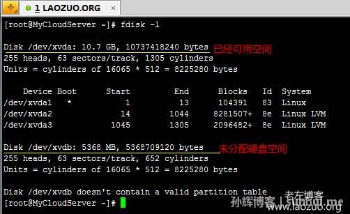 深圳网络营销:完整Linux VPS挂载未使用硬盘教程方法